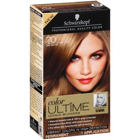 Schwarzkopf Color Ultame Iconic Blondes 70 Dark Blonde Hair Color