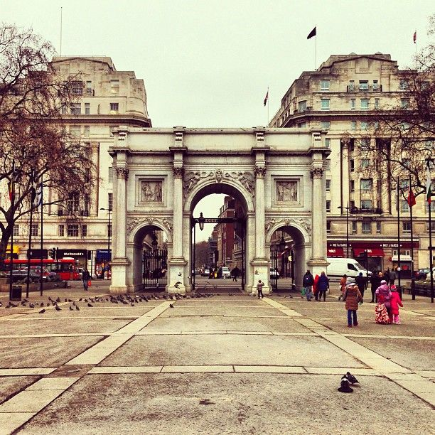 Marble Arch Around The Worlds Arch Greater London