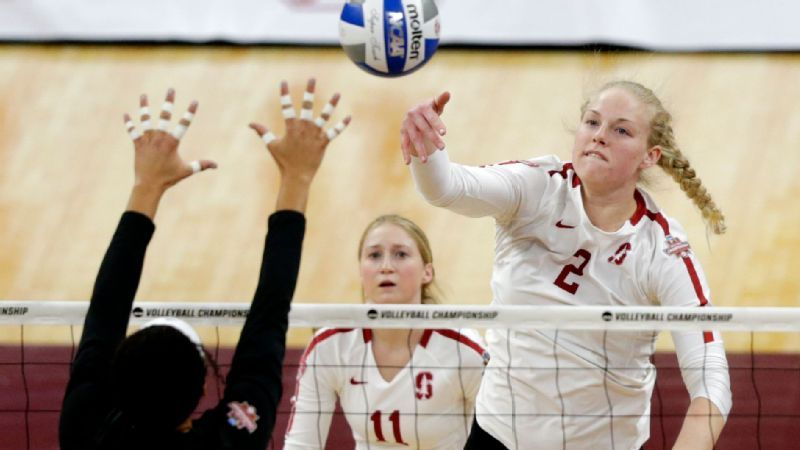 2019 Ncaa Volleyball Guide Players To Watch Key Games And More Stanford Volleyball Volleyball Sport Outfits Gym