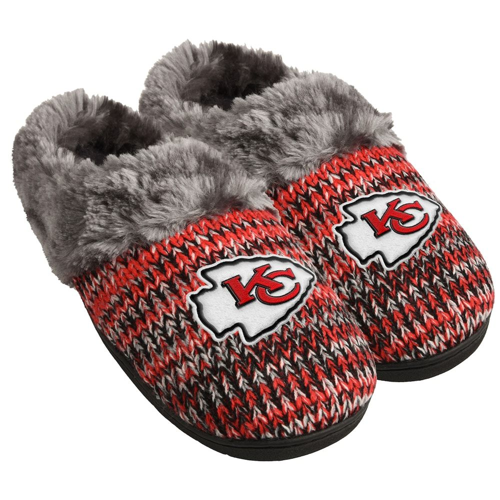 62620680 Women's Forever Collectibles Kansas City Chiefs Peak Slide Slippers ...