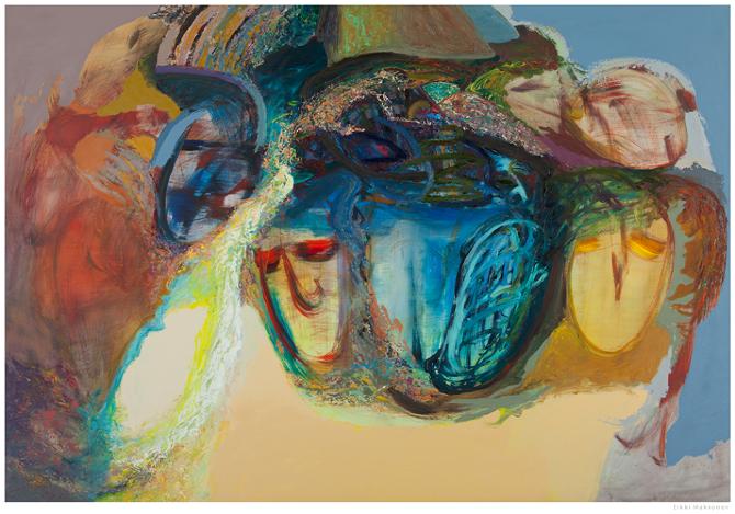 Terhi Hulkko - Vapaa Taidekoulu - lopputyönäyttely 2013