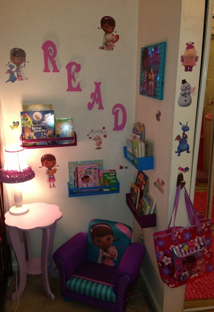 doc mcstuffins kids room | Doc McStuffins Themed Mini Children\'s ...