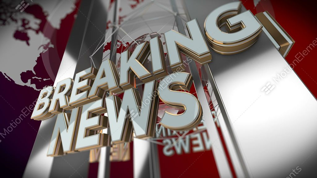 Breaking News Looping Background, Price: $40 00, Category: Stock