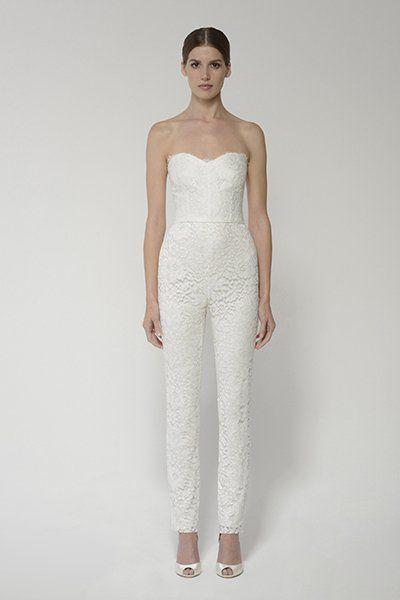 35 Gorgeous Pantsuits And Jumpsuits For Brides Love Bridal
