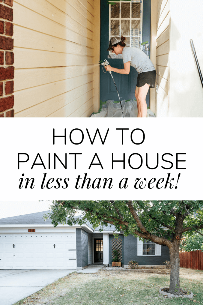 How to transform the exterior of a home in a week - Love & Renovations