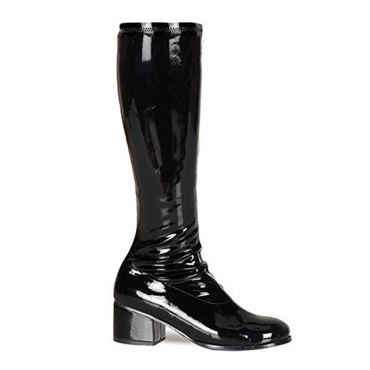 Funtasma Kostüm-Stiefel Retro-300 schwarz für Karneval Halloween Fasching