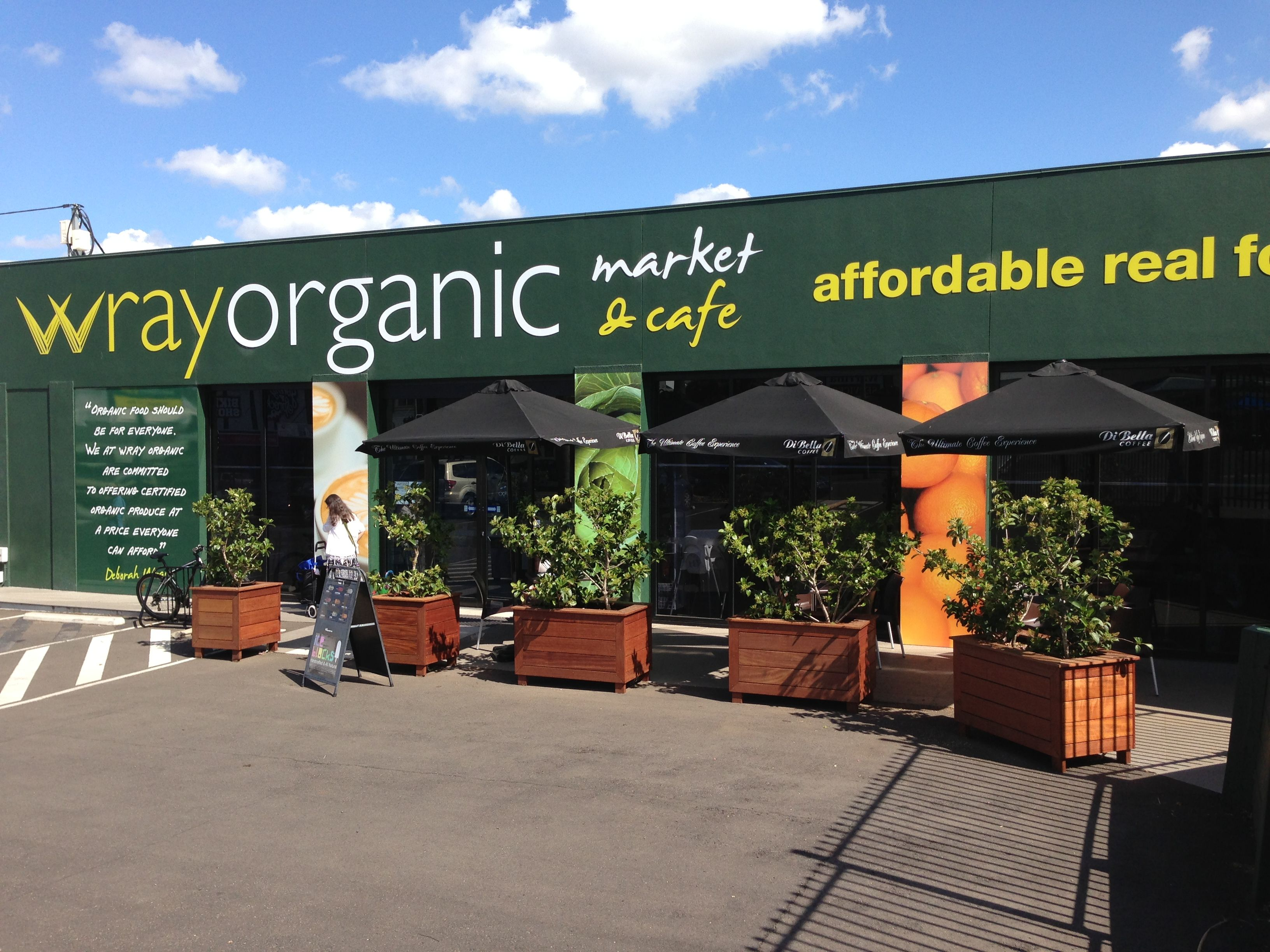 Wray Organic Market Cafe At Toowoomba Queensland Australia Find This Pin And More On Food Business Ideas