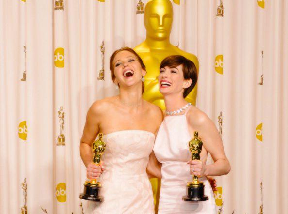 Best Jennifer Lawrence Oscar moments. | Celebs, Happy ...