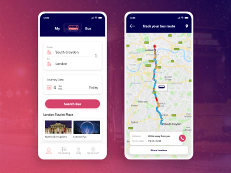 Online Bus Ticket Booking App Booking App Bus App Bus Tickets