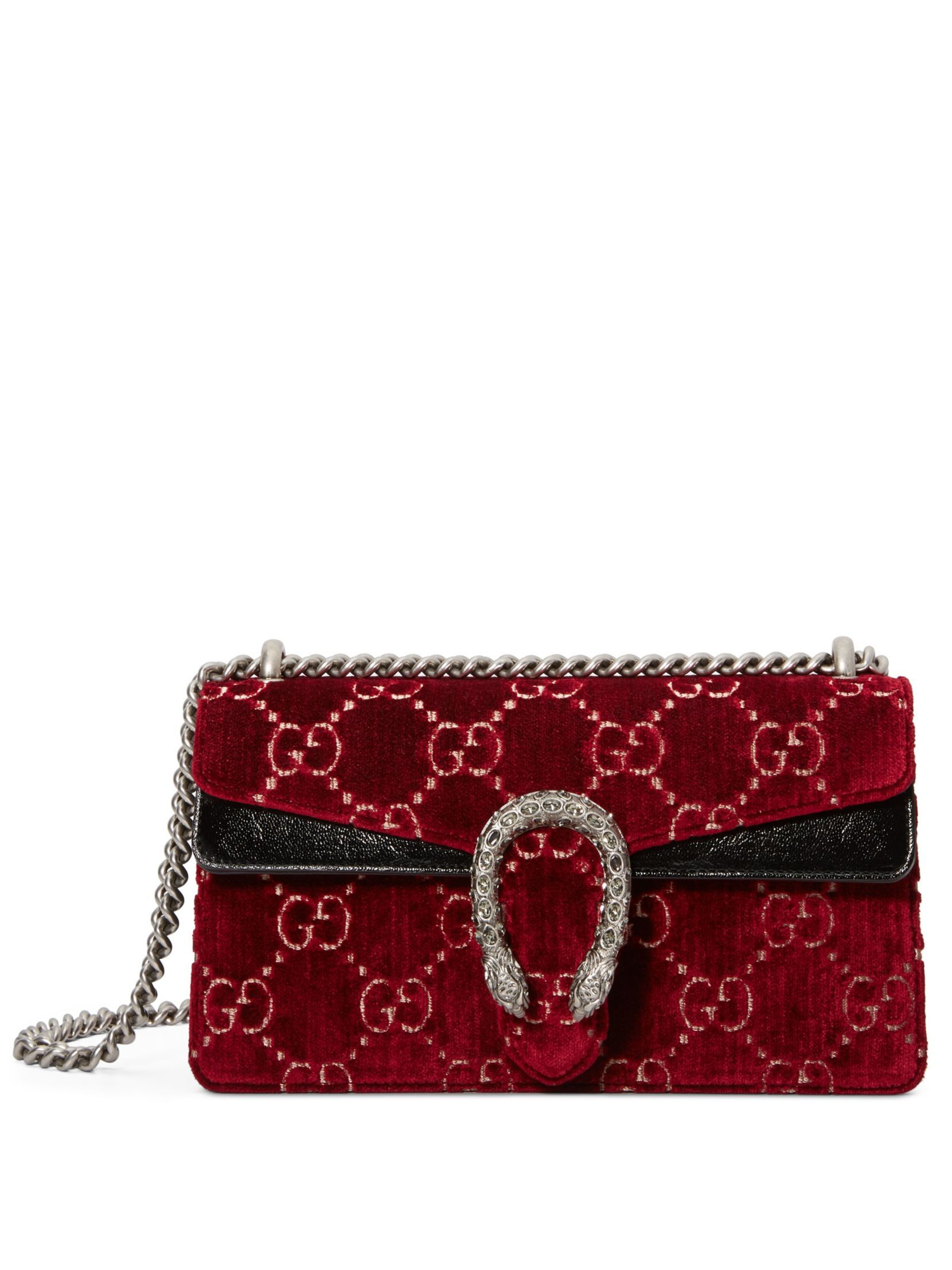 cab54d2b3cc7 Gucci Dionysus GG Velvet Small Shoulder Bag | I love purses/handbags ...