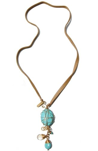 Perfect as a necklace or a wrap-around bracelet!