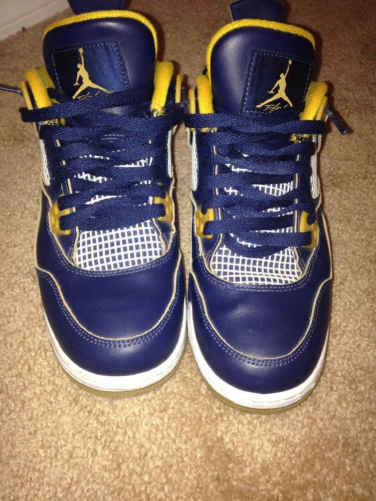 official photos 9c2a2 e4b38 2016 Nike Air Jordan 4 IV Retro GS Dunk From Above Navy Size 6.5Y  (408452-425)  fashion  clothing  shoes  accessories  mensshoes   athleticshoes (ebay link)