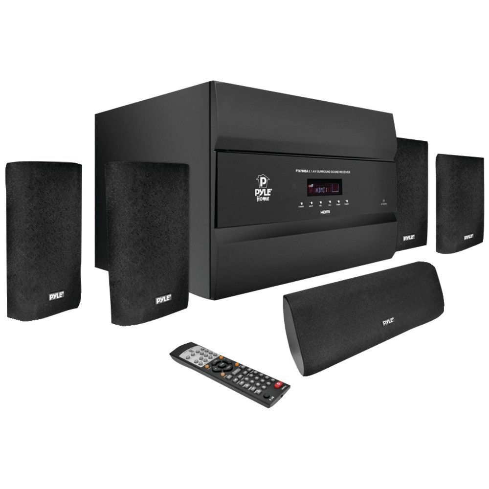Home Theater Bluetooth Sound System 400 Watt 5.1 Channel Amplifier Pre Amp