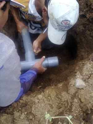 Penyambungan Pipa PVC di Posisi Sulit