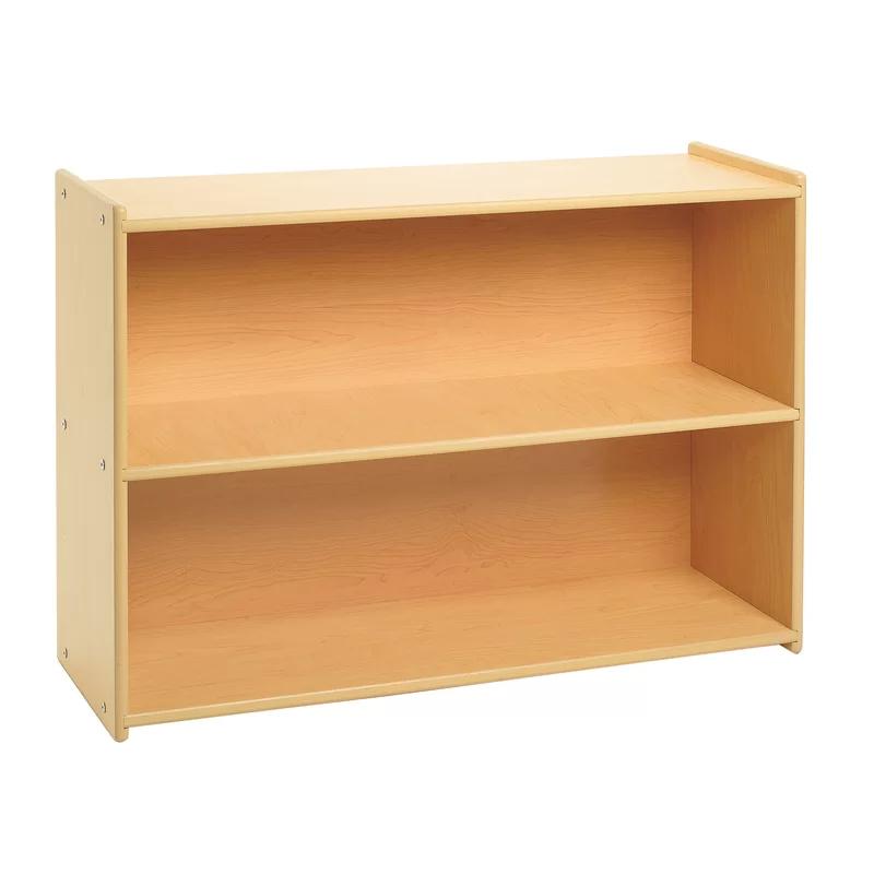 Value Line 2 Compartment Shelving Unit In 2021 Shelving Unit Wooden Storage Storage Shelves