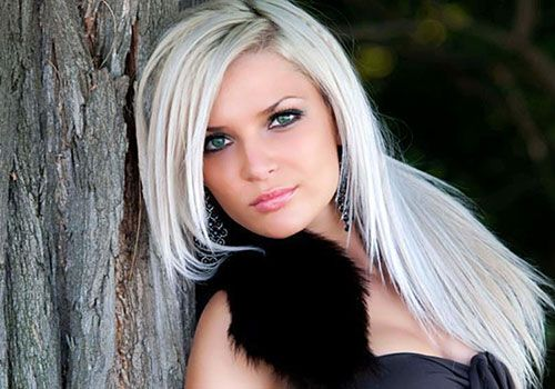Surprising 1000 Images About Hair On Pinterest White Hair Hairstyles And Hairstyle Inspiration Daily Dogsangcom