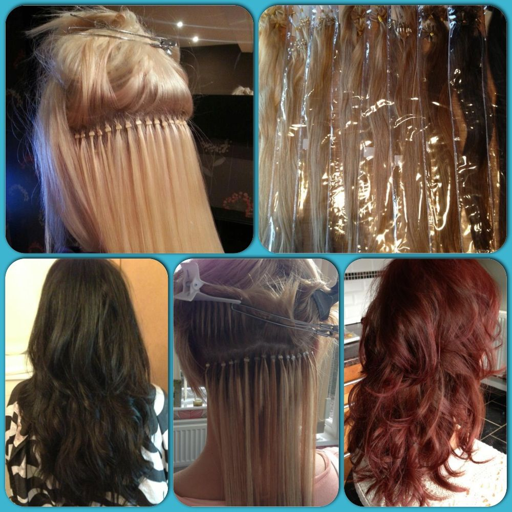 Hair Extensions!! Per bonded/Micro ring!! ) Braids with