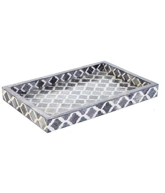 Bone Inlay tray by PrimeInlayFurnitures on Etsy