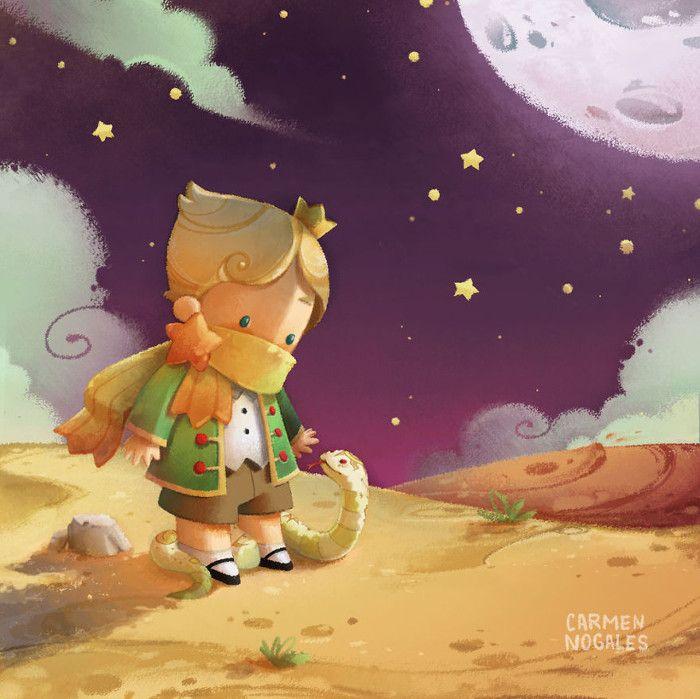 Красивые картинки маленького принца