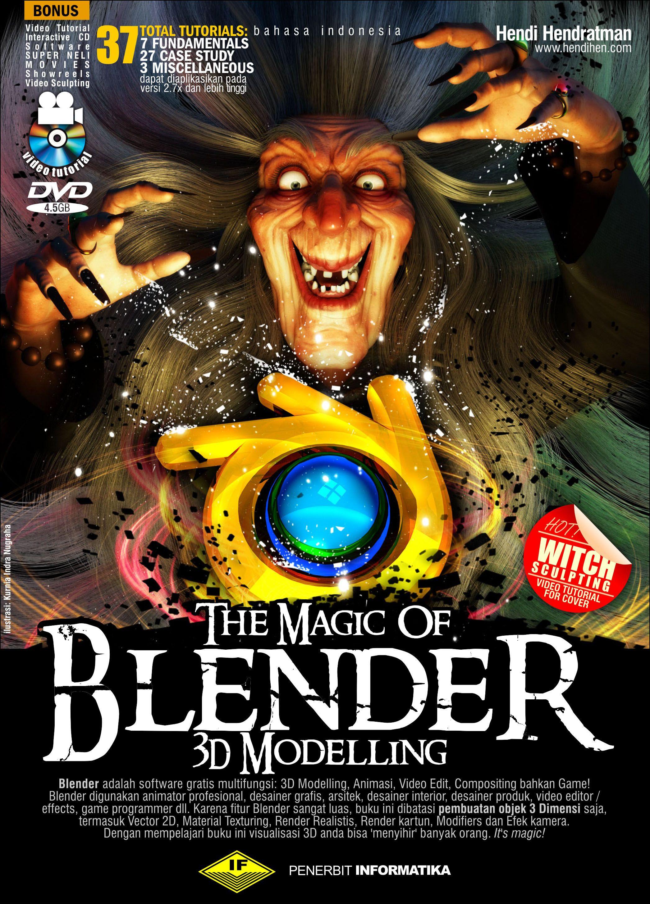 Blender Character Modeling Tutorial Pdf : Belajar blender dasar d tutorial buku