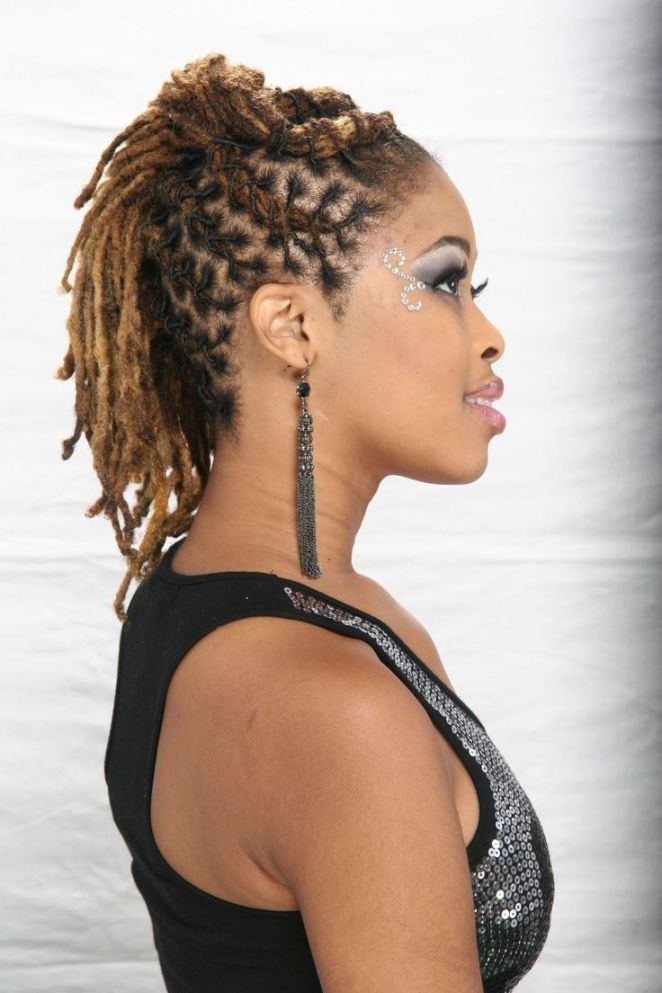 Coiffures Naturelles Dreads Hairstyle Pinterest Coiffure Locks