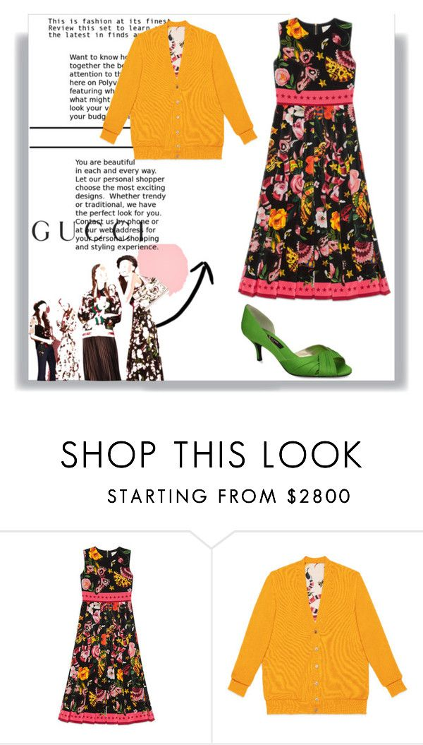 """Presenting the Gucci Garden Exclusive Collection: Contest Entry"" by amazinglyzaina ❤ liked on Polyvore featuring Gucci, Nina and gucci"
