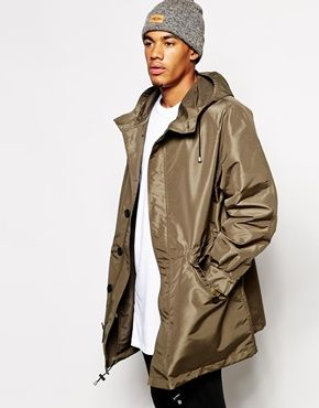 ASOS Parka In Oversized Fit | Men's Fashion | Pinterest | Parka