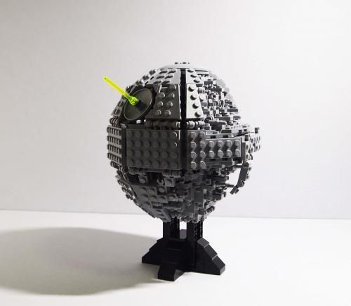 LEGO Set MOC-5505 Death Star II midi-scale - building instructions ...