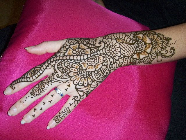 Arabic Mehndi Flower : Simple mehndi designs for beginners learn arabic pinterest