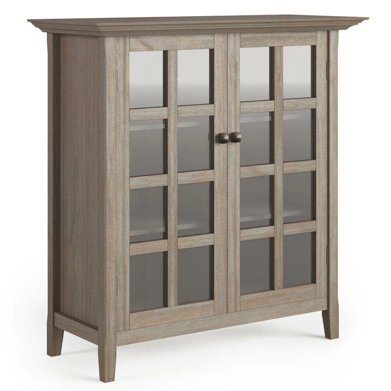 Mayna 2 Door Accent Cabinet In 2020 Entryway Storage Cabinet Rustic Media Storage Media Storage Cabinet