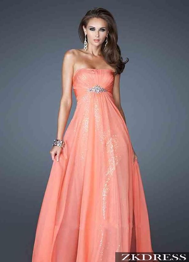 Delicado y hermoso vestido con aplique en la cintura | Vestidos de ...