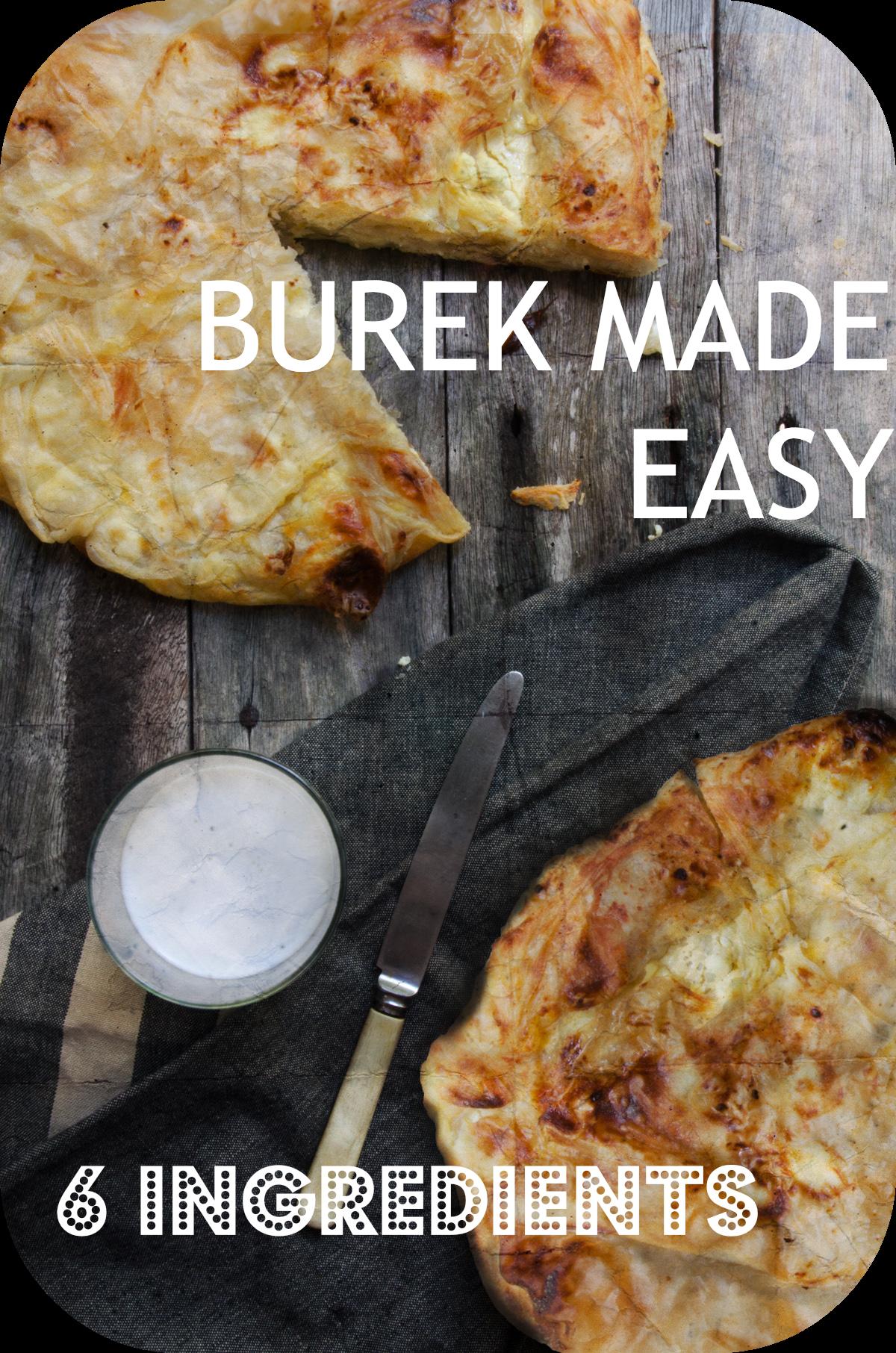 How to make #Croatian #Burek using just 6 ingredients. http://www.chasingthedonkey.com/croatian-burek-recipe/