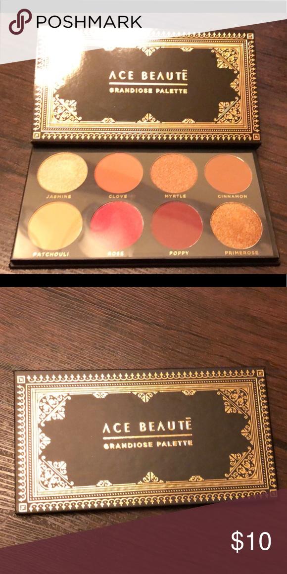 Ace Beautē Palette Palette, Eyeshadow, Swatch