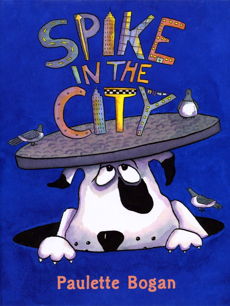 """""""Spike in the City""""   MeeGenius   """"Spike"""" the Dog's Children's Book Collection   Books"""