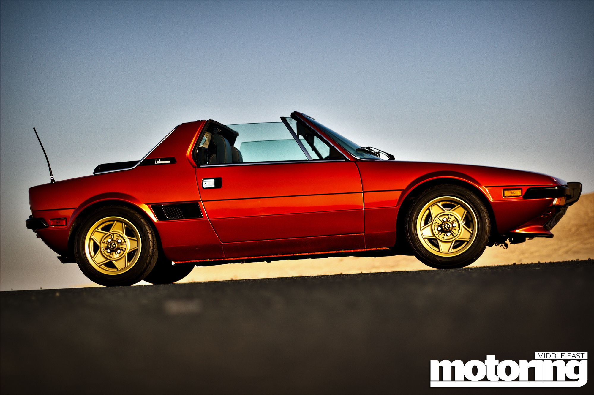 hight resolution of classic fiat x1 9 in dubai