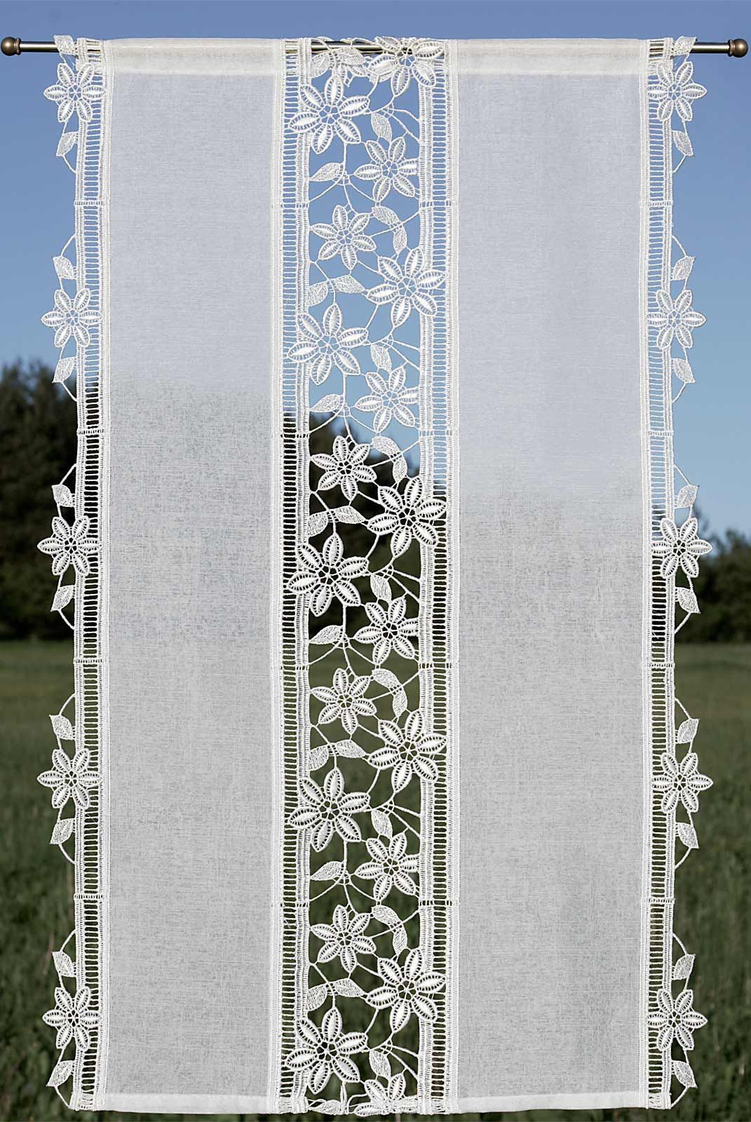 Cutwork Flowers Connecting Translucent Panels In 2020