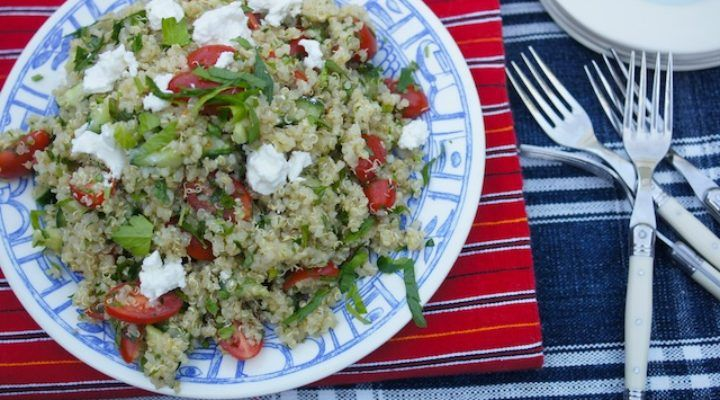 Colorful Quinoa Tabouleh