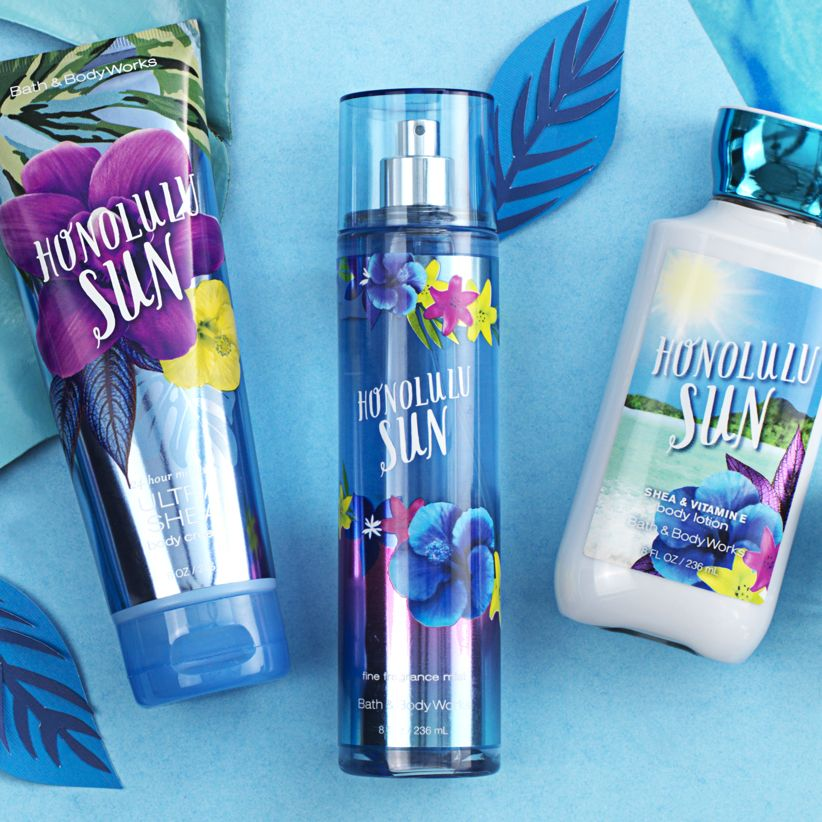 Sunny Days Every Day Alohahawaii Bath And Body Works