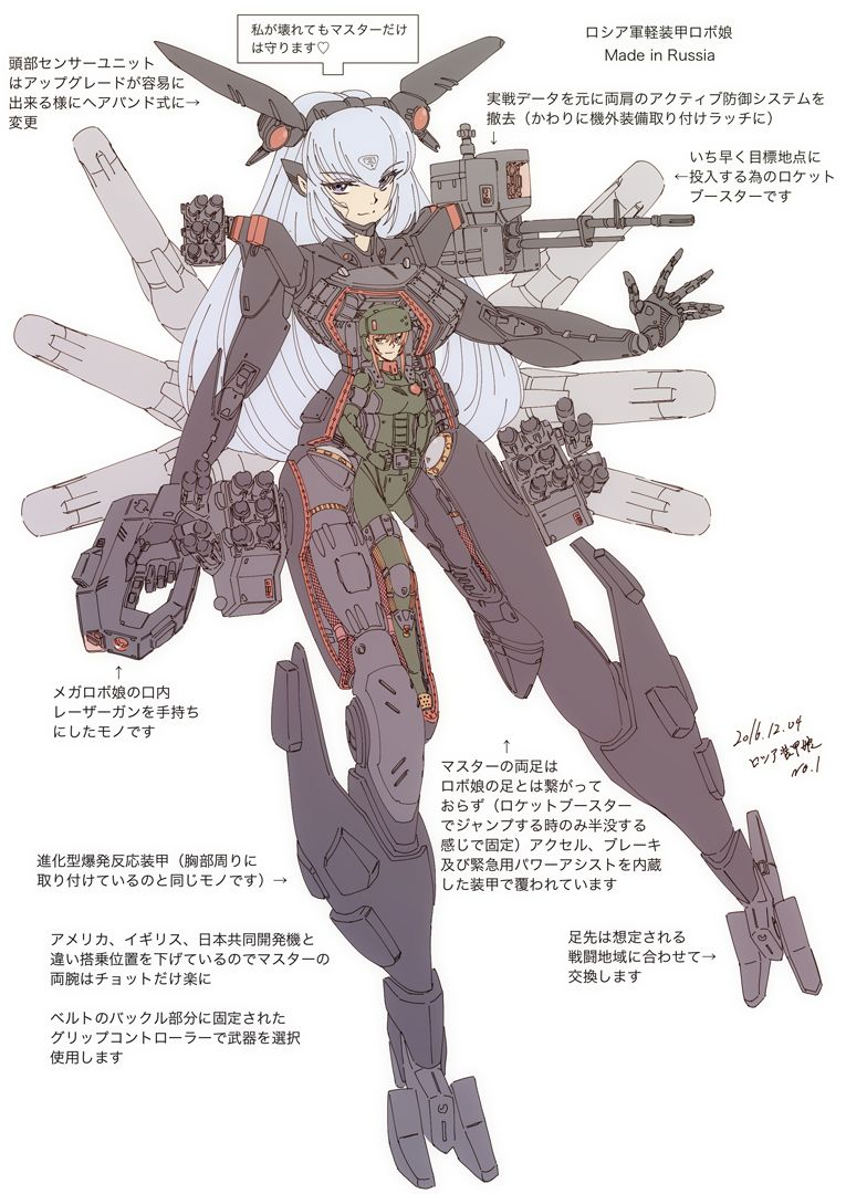 Pin By じろう On Machine Cyber Humanoid Sketch Art
