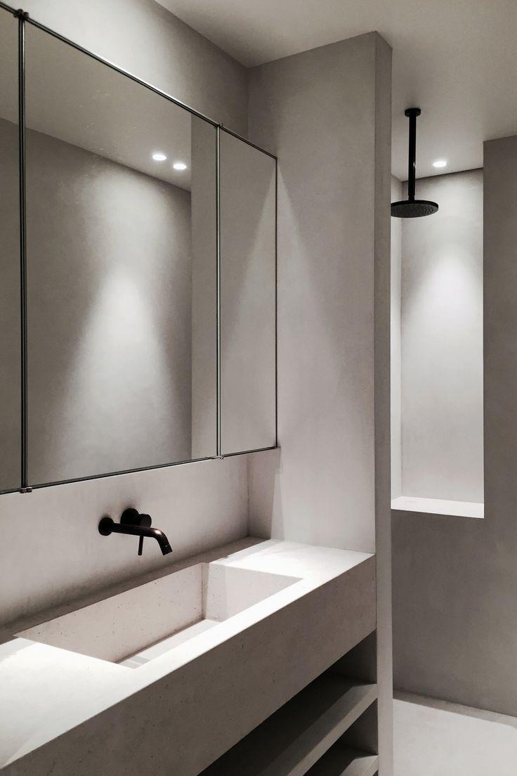 Bathroom Minimalistische Bader Badezimmer Design Badezimmer