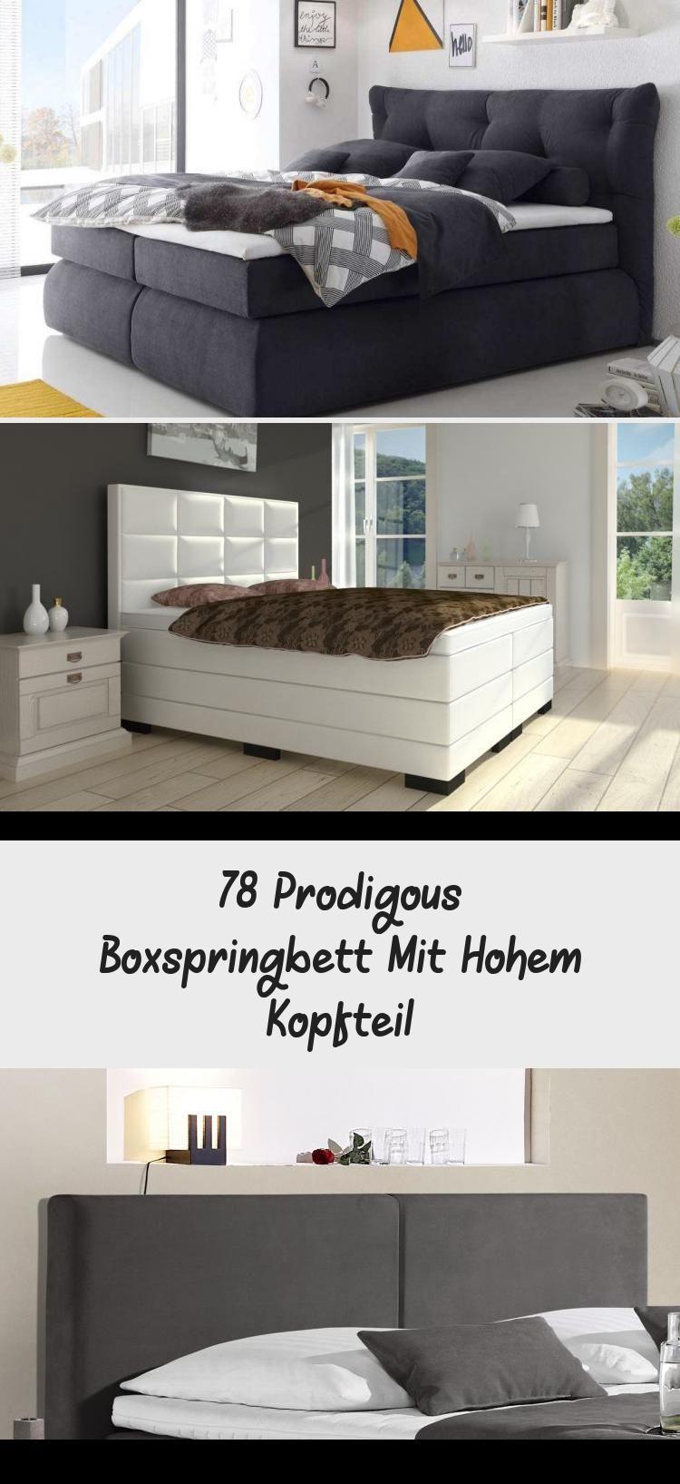 78 Prodigous Boxspringbett Mit Hohem Kopfteil Home Decor Decor Home