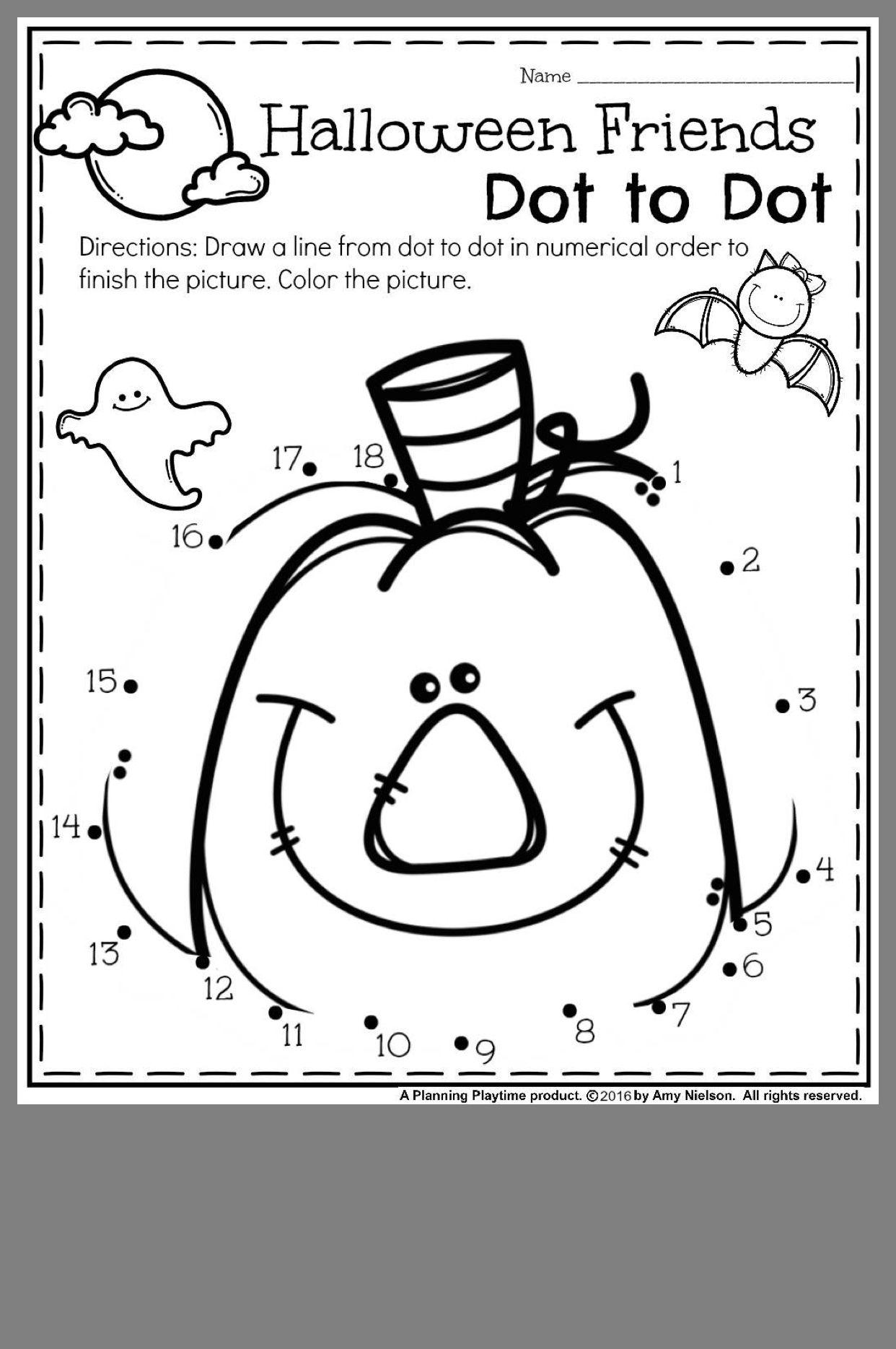 Halloween Preschool By Jacqueline Amber On September
