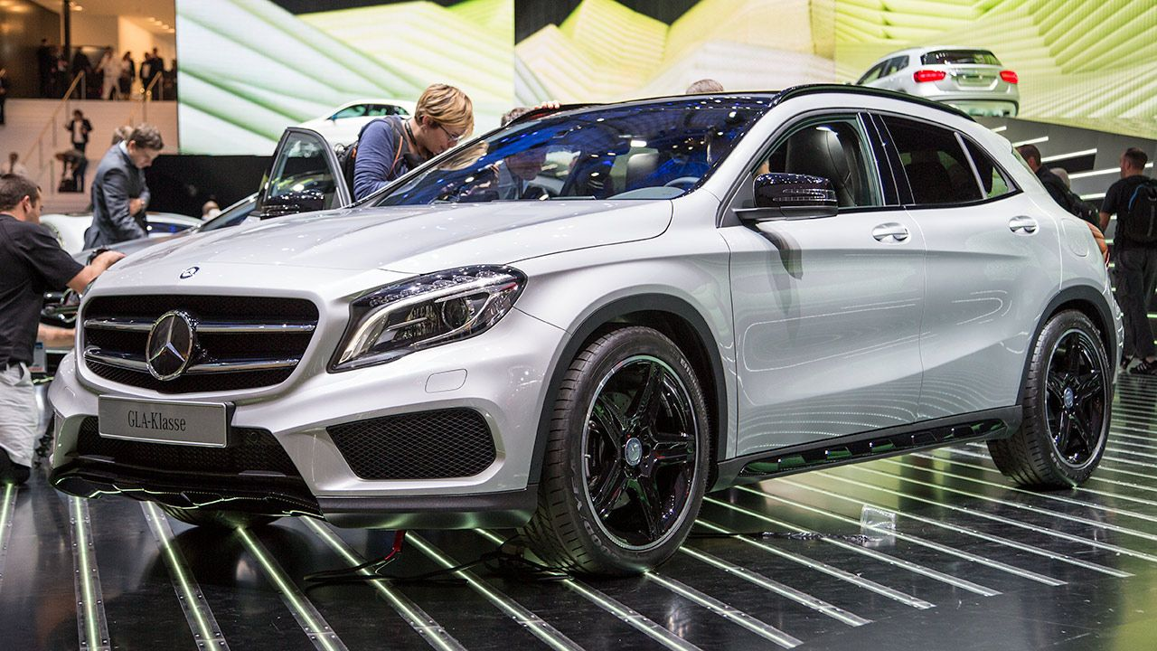 The Gla250 Is The New Baby Suv From Mercedes Benz Mercedes Benz Mercedes Benz Gla New Baby Products