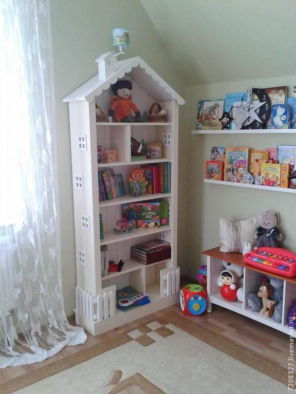 Купить или заказать 6. Шкаф книжный в детскую для детей в ...