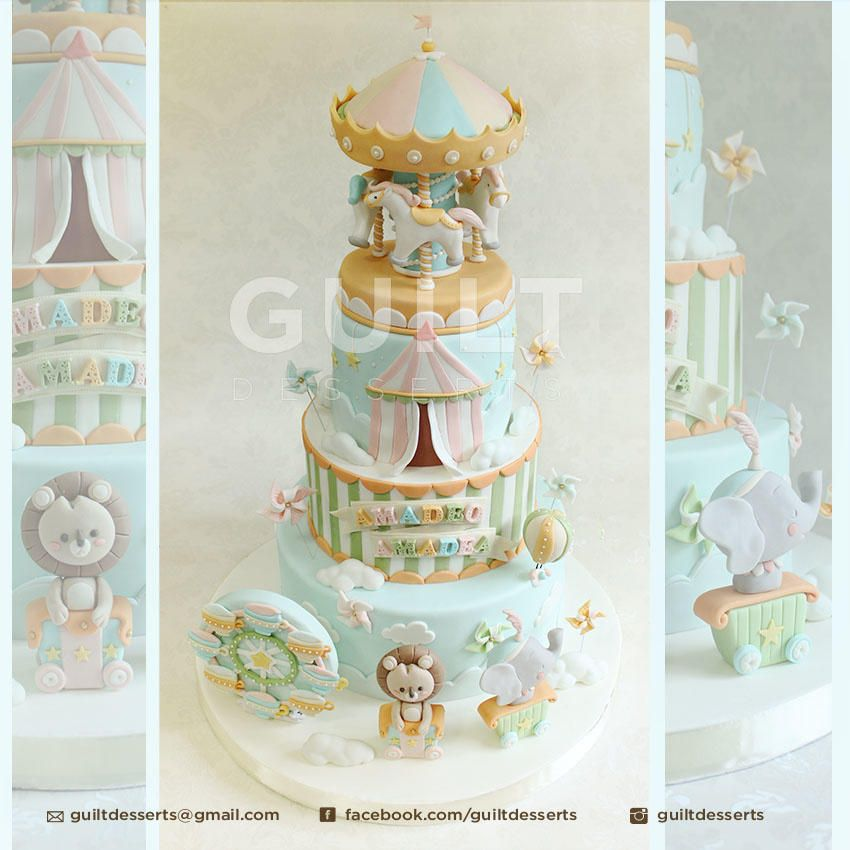 Cake Decorating Carousel : Carousel Carnival by Guilt Desserts Cakes & Cake ...