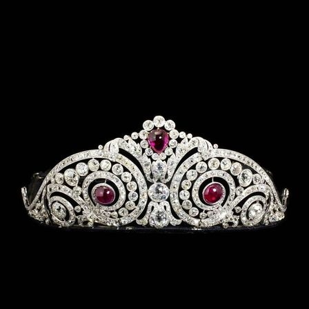 Tiara, Made by Henri Lavabre for Cartier, 1913