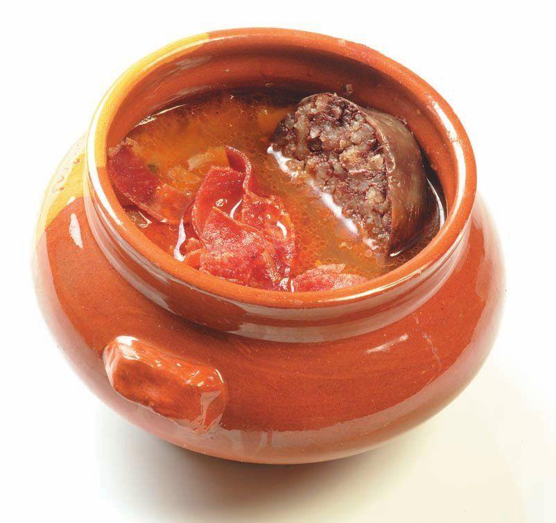 Receta de sopa castellana pinares burgos spain ra ces - Sopa castellana casera ...