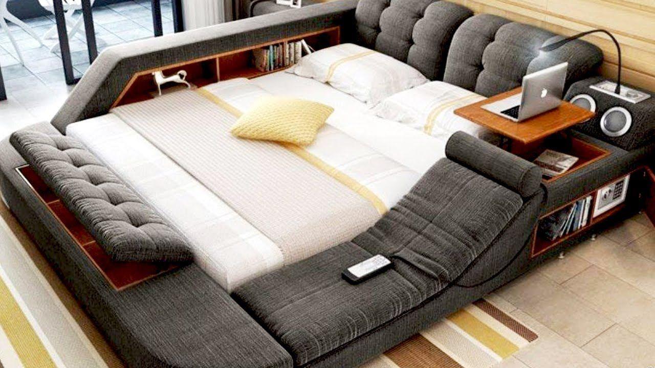Loft bed lighting ideas   GREAT SPACE SAVING IDEAS  Móveis e desing criativos ecológicos