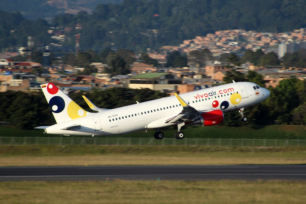 Viva Air Inicio Ruta Bogotá-Cali