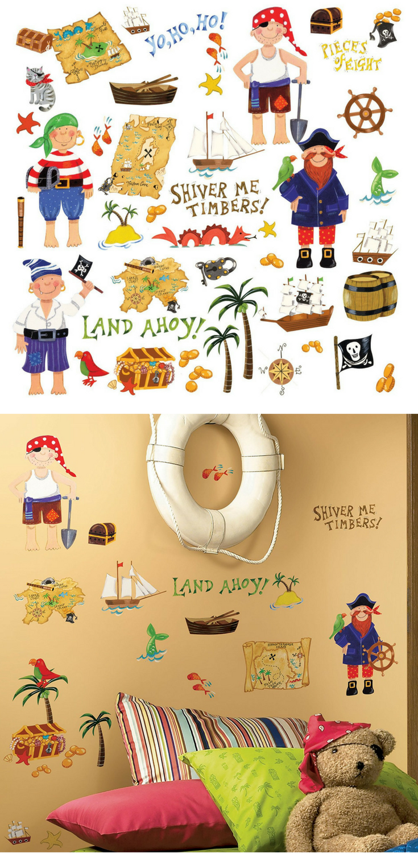 Fabelhaft Piraten Wandtattoo Sammlung Von | Wandgestaltung Kinderzimmer